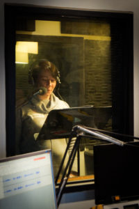Voice over student recording - voices of tomorrow